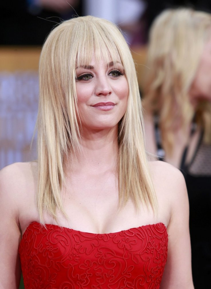 Kaley Cuoco Pixie Haircut The Big Bang Theory Star Receives