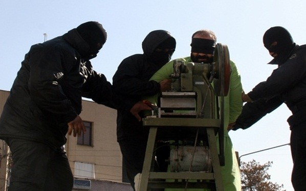The photos of the machine were released by an official Iranian news Agency (INSA)