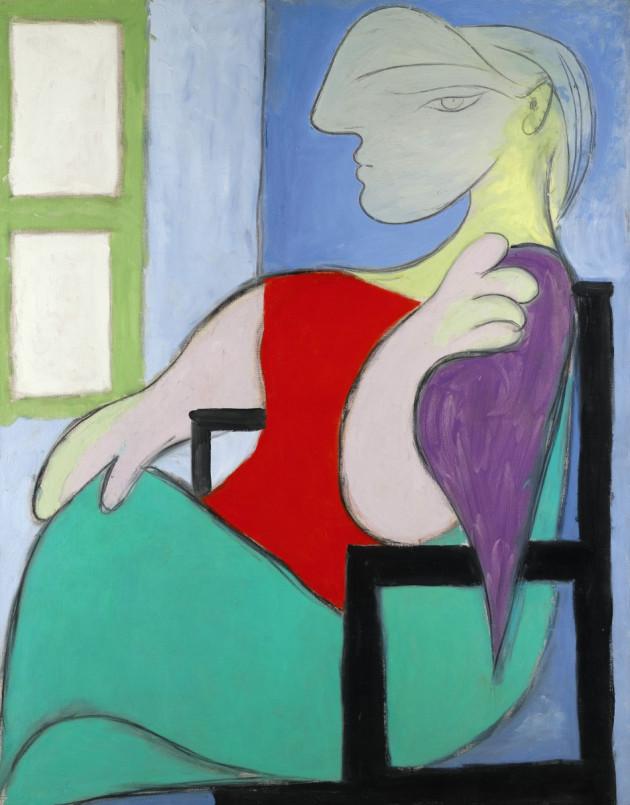 Picasso's Femme Assise Pres D'une Fenetre