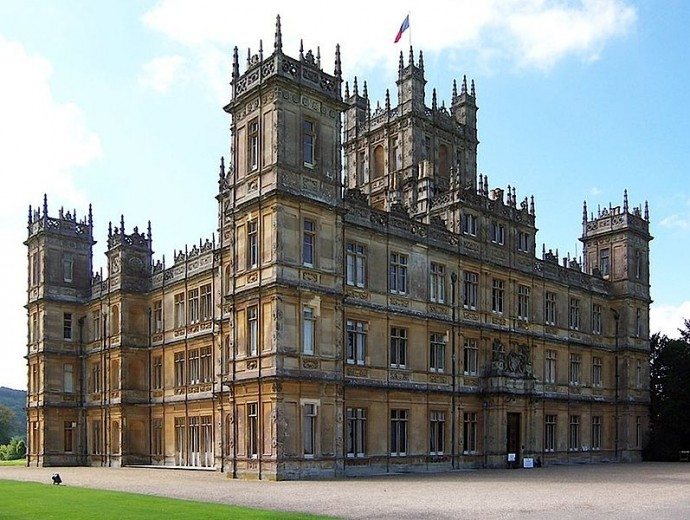 Highclere Castle, AKA 'Downton Abbey'