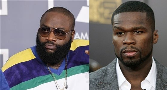 Rick Ross and 50 Cent