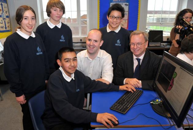 Google donates Raspberry Pi UK