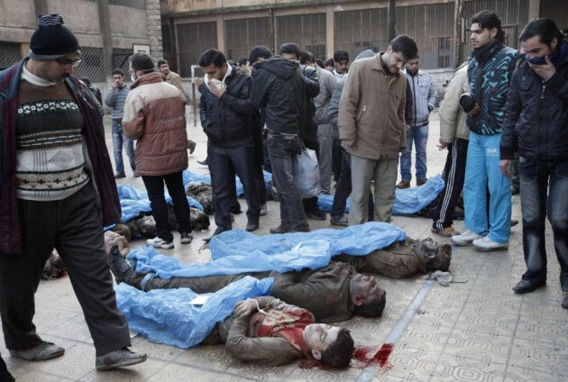 Syria Aleppo execution