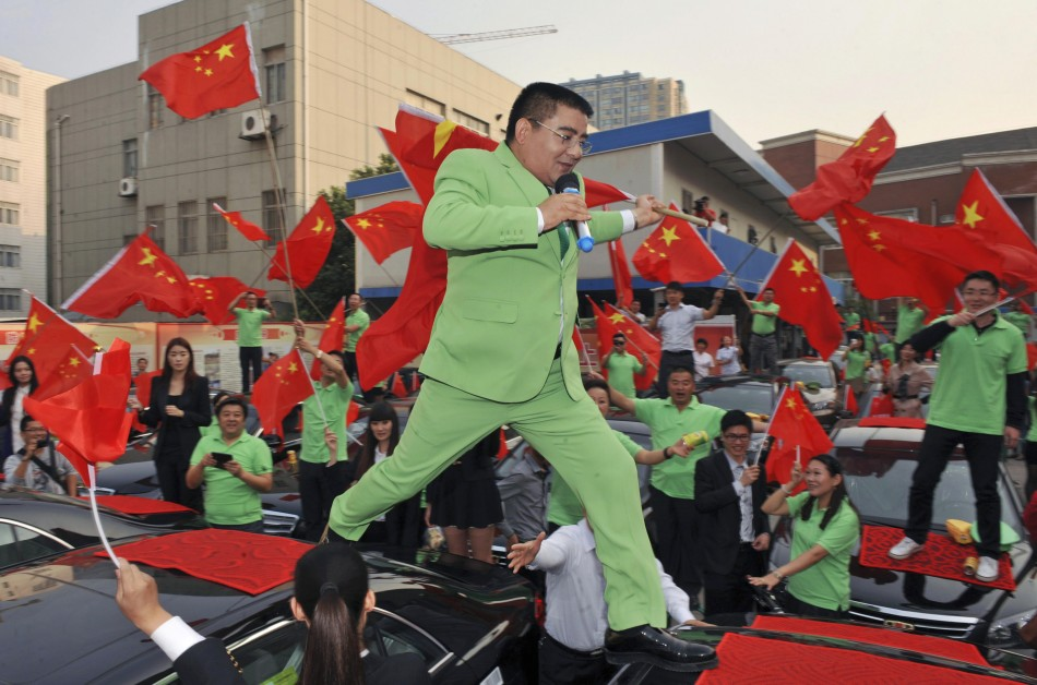 Millionaire Chen Guangbiao is known for his high-profile charitable stunts (Reuters)