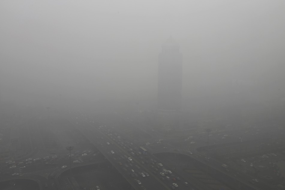 Beijing's air pollution returns to 'hazardous' levels, two weeks after record readings of small particles in the air sparked a public outcry