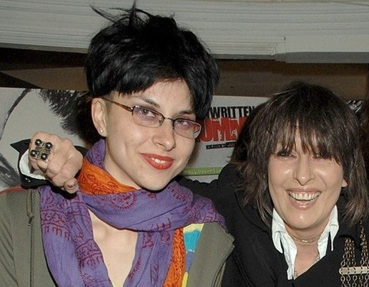 Natalie with mother Chrissie Hynde