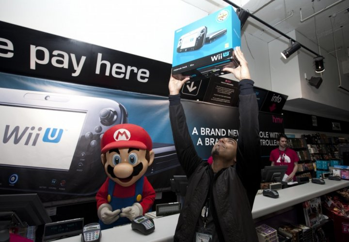 Wii U sales report Mario Gamepad