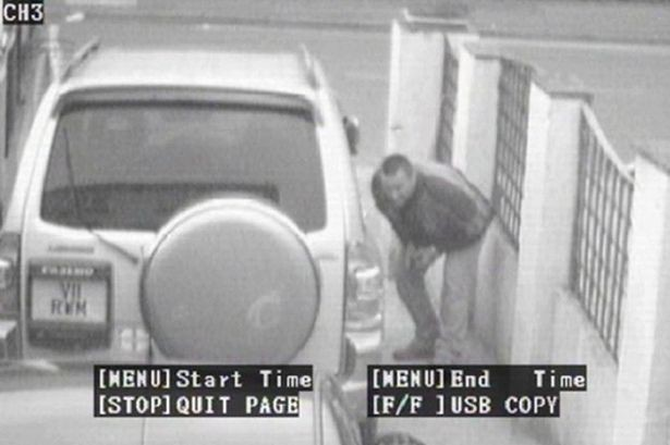 Moore had faked the CCTV footage in order to avoid paying a fine (Devon and Cornwall Police)