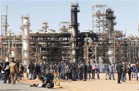 Tiguentourine Gas Plant in In Amenas