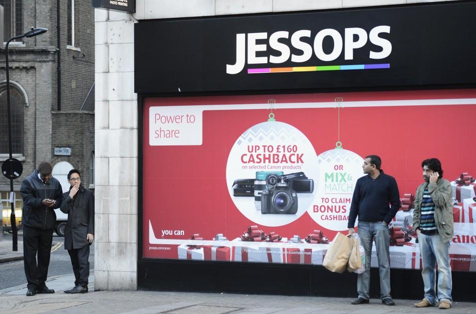 Jessops shop in central London