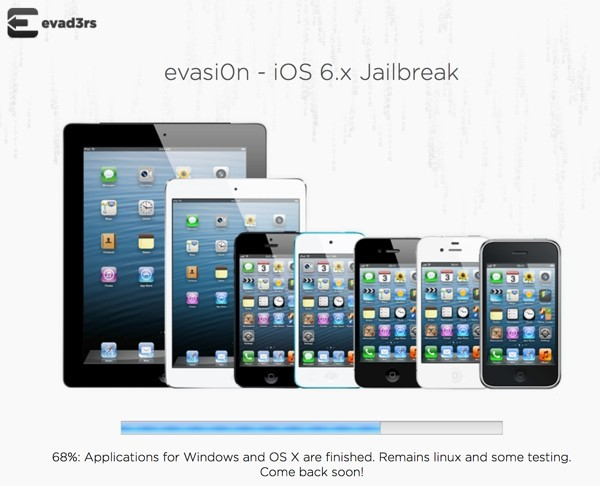 iOS 6 Untethered Jailbreak Status: Evasi0n Achieves 68% Progress, Sunday Release Likely