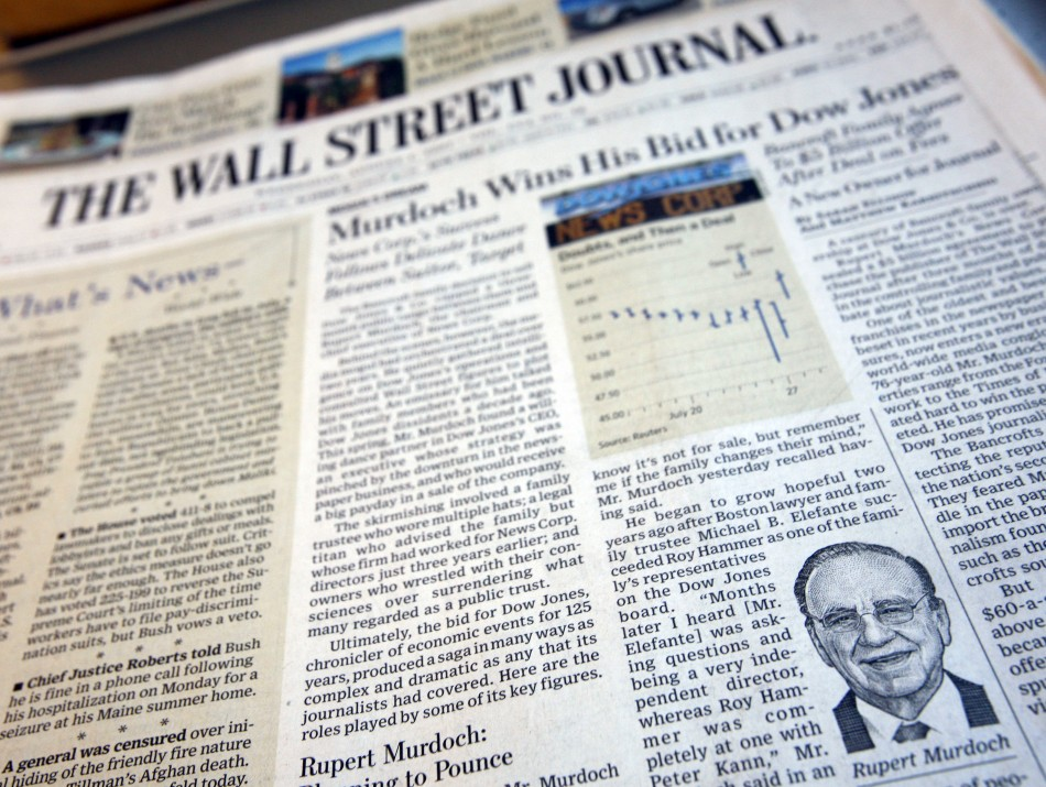 Wall Street Journal Targeted By Chinese Hackers
