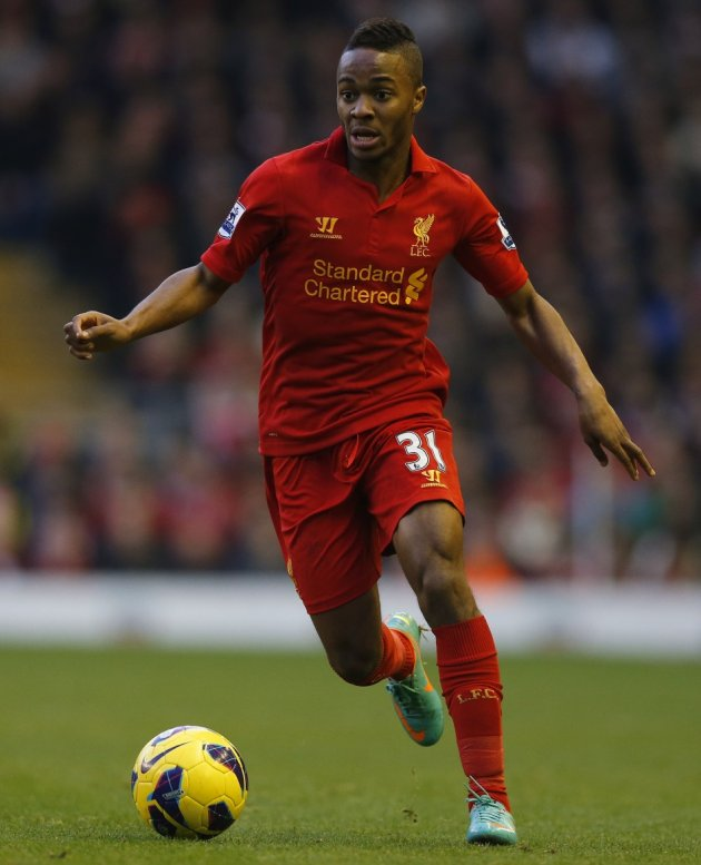 Raheem Sterling signed for Liverpool in 2010 at the age of 15 (Reuters)