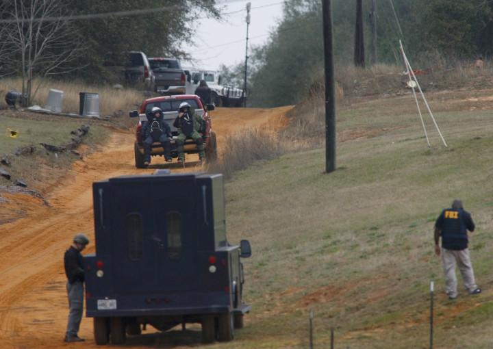 Alabama hostage bunker