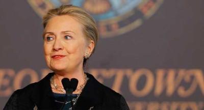 Hillary Clinton, Former secretary of state, U.S.