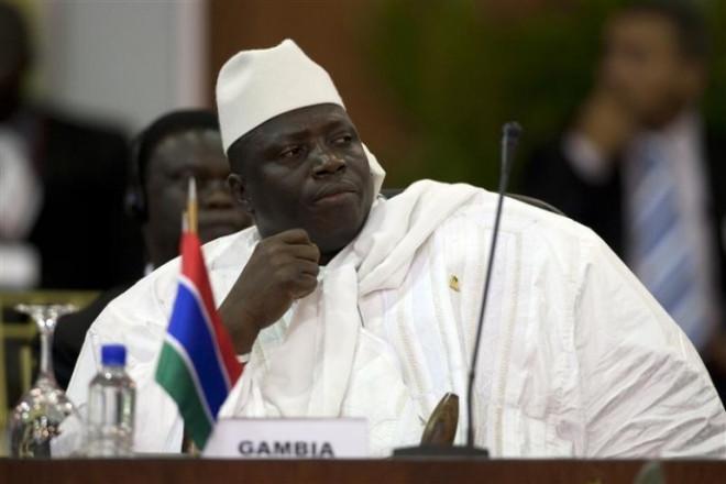Gambia's President Al Hadji Yahya Jammeh