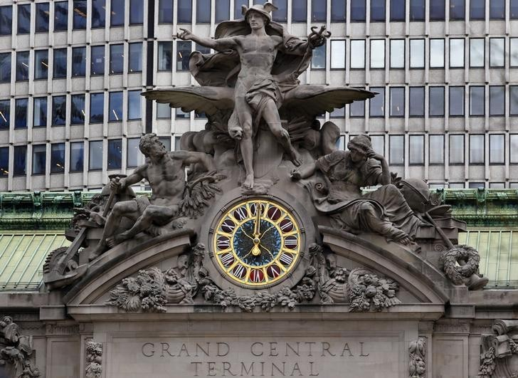 The Grand Central Station clock in the Main Concourse has been valued at between £6-12 million