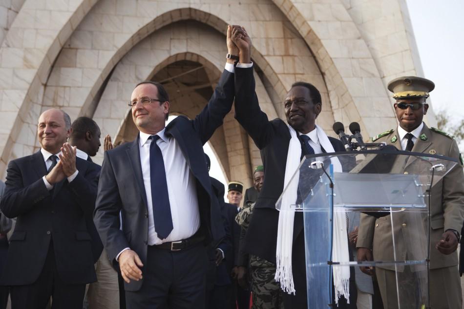 Hollande in Mali