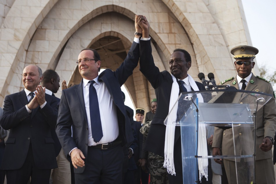 Hollande in Mali