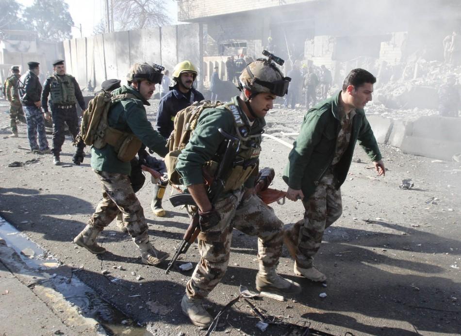 Police headquarters attack in Kirkuk