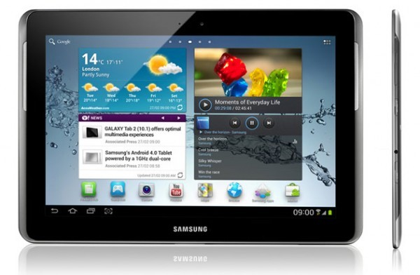 Galaxy Tab 2 10 1 P5110 Gets Android 4 1 1 Jelly Bean OTA