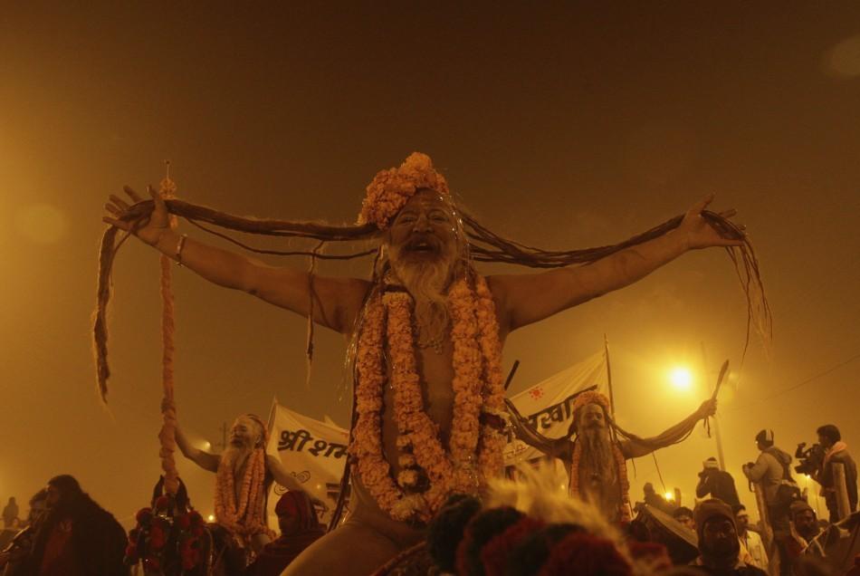 India's Kumbh Mela festival