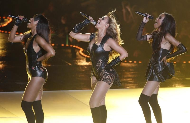 Beyonce C and Destinys Child perform during the half-time show of the NFL Super Bowl XLVII football game in New Orleans, Louisiana, February 3, 2013.