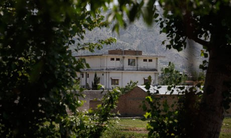 The compound in Abbottabad, Pakistan where Osama bin Laden was killed (Reuters)