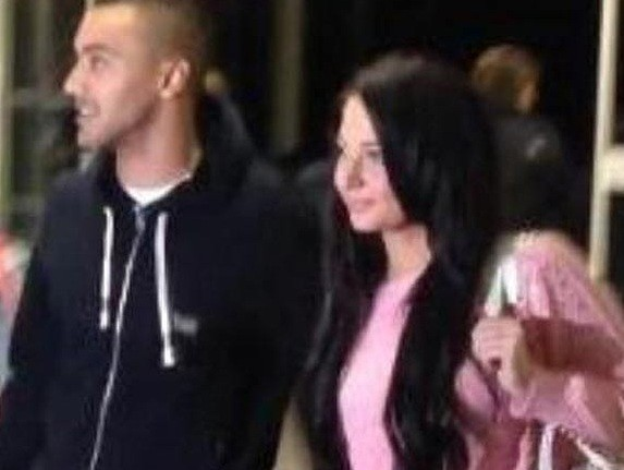 Tulisa Contostavlos and Danny Simpson