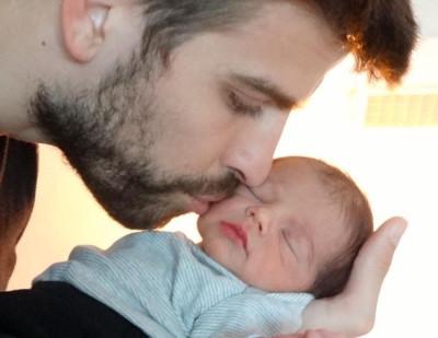 Meet our baby boy Milan  Les presentamos a nuestro bebe Milan,  Shak  Gerard Piqu