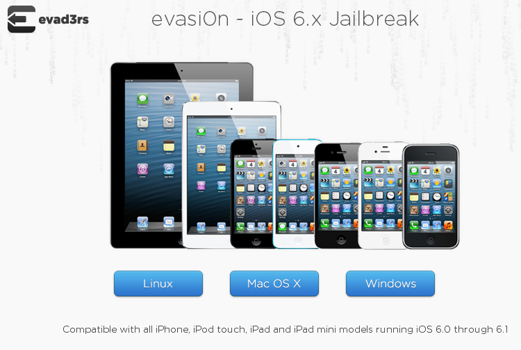 Jailbreak iOS 6, 6.1 Untethered (Mac OS X and Windows) on iPhone 5 and Other Devices Using Evasi0n [Video and Tutorial]