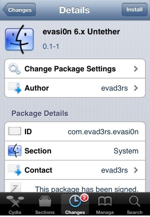 How to Convert Tethered iOS 6 Jailbreak to Untethered Using Evasi0n 6.x Untether [Tutorial]