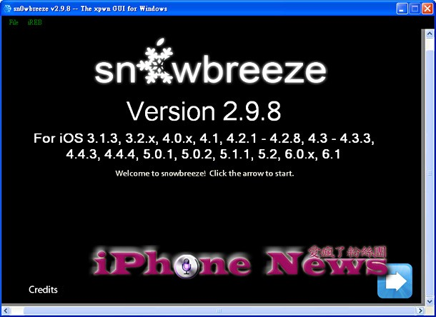 iH8sn0w Releases Sn0wbreeze 2.9.8 with Support for iOS 6.x Untethered Jailbreak