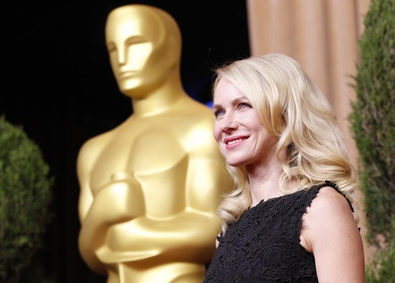 Naomi Watts, nominated for best actress for her role in The Impossible, arrives at the 85th Academy Awards nominees luncheon in Beverly Hills, California