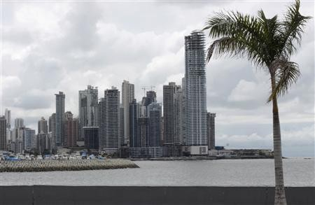 Panam City was eighth on the list of World's cheapest cities of 2013.  Buildings under construction are seen in Panama City April 25.2010 (Reuters)