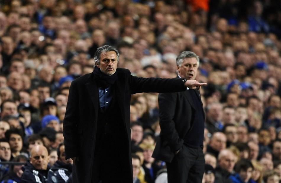 Jose Mourinho and Carlo Ancelotti