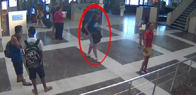 The suspected Bulgarian bus bomber