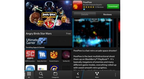 BlackBerry 10 - BlackBerry World