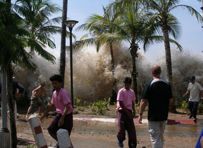 The 2004 tsunami following the Indian Ocean Boxing Day earthquake is said to be the most deadly in history, killing over 230,000 (Wiki Commons)