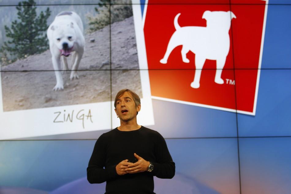 Zynga CEO Mark Pincus