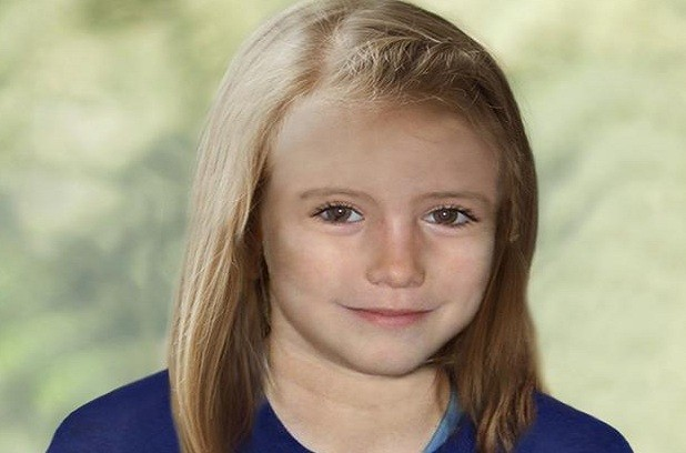 Madeleine McCann as she might look today
