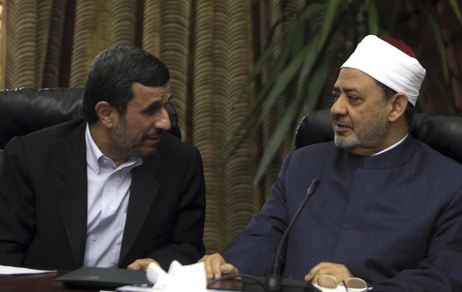 Ahmadinejad Cairo