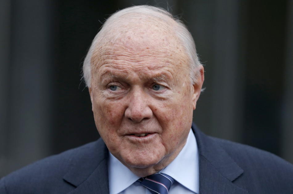 Stuart Hall leaves Preston Magistrates court (Reuters)