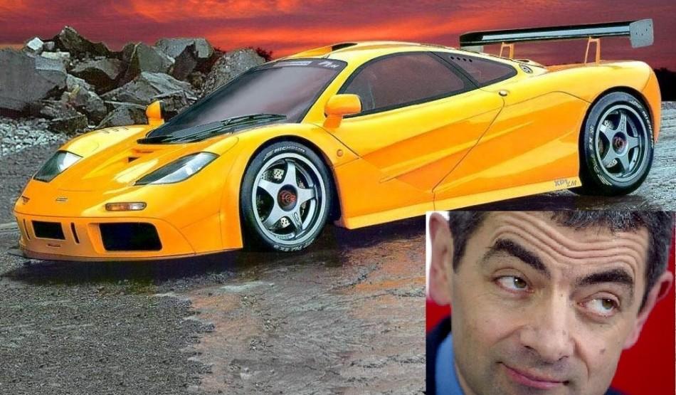 Mclaren F1 and Rowan Atkinson