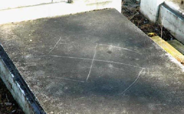 Grave anti-Semitism