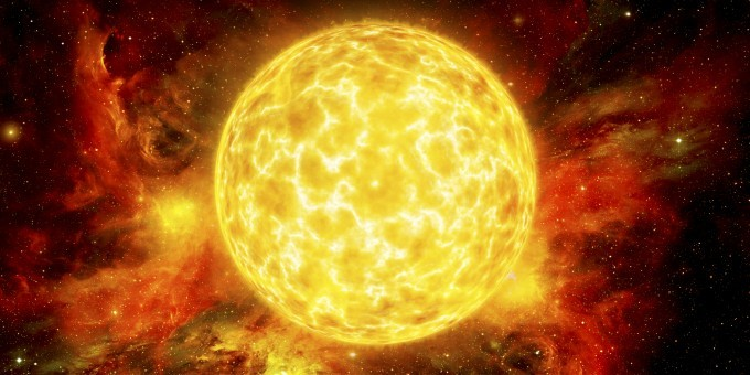 Bright star: Sun is source of solar storms