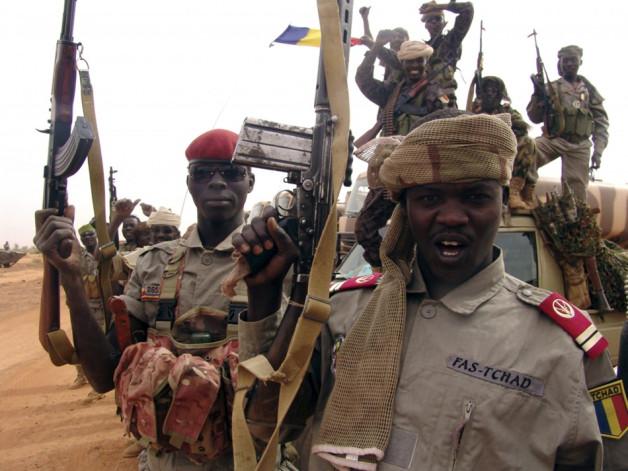 Chadian Troops