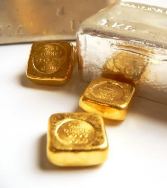 Gold and silver bullion