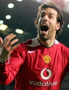 Ruud van Nistelrooy (Source - Manchester United FC)