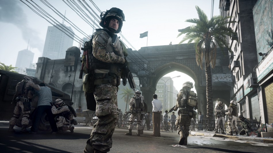 Battlefield 3 multiplayer is art